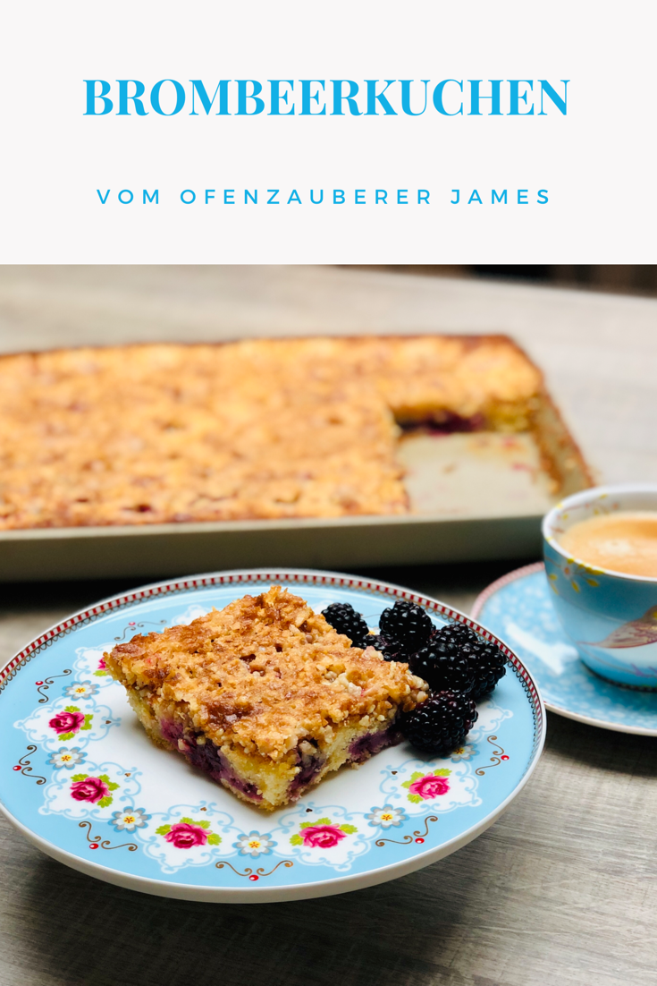Brombeer-Krokant Kuchen vom großen Ofenzauberer James von Pampered Chef®