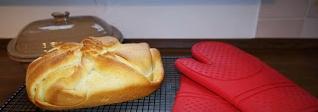 Pampered Chef Ofenmeister / Zaubermeister Brot - Heute Georgisches Käsebrot von Martina Ziehl mit Pampered Chef