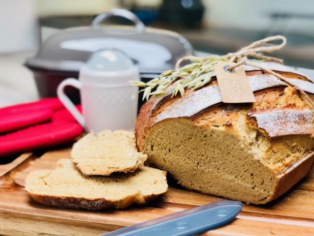 So ein würziges Brot mein Senfbrot für starke Kerle :) natürlich im Original Ofenmeister gebacken.