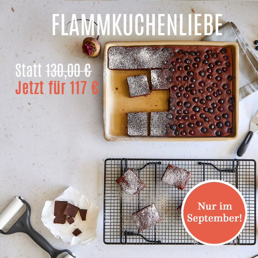 Pampered Chef Angebot September 2020 - Flammkuchenliebe