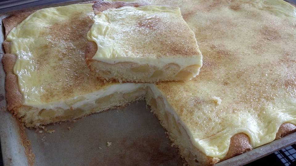 Backe dir einen leckeren Apfelkuchen mit Schmandguss im großen Ofenzauberer James von Pampered Chef®