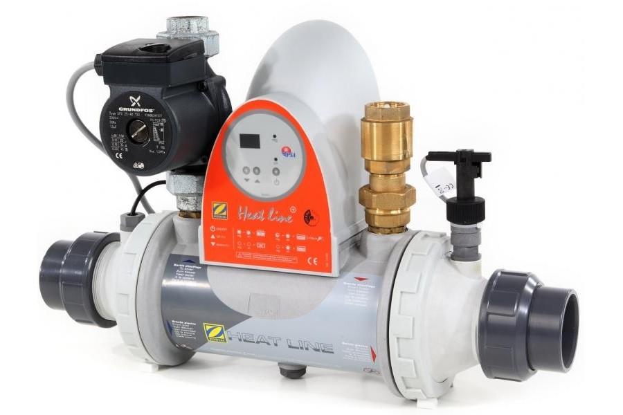 Heat Line 40 mit Ausstattung + Pumpe