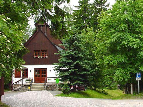 Huthaus an der Binge Sommer