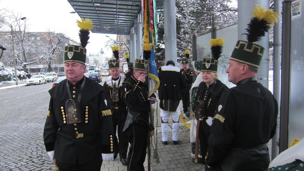 Auf dem Weg zur Parade Chemnitz am 27.11.2010