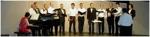 Konzertvereinigung Wiener Staatsopernchor. Probe in kleiner Besetzung. Foto: Erfurt