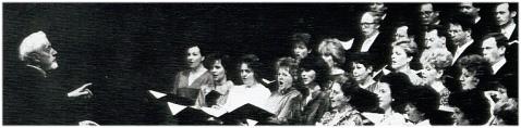 Die Konzertvereinigung Wiener Staatsopernchor mit Roberto Benaglio.