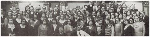 Die Konzertvereinigung Wiener Staatsopernchor mit Clemens Krauss.
