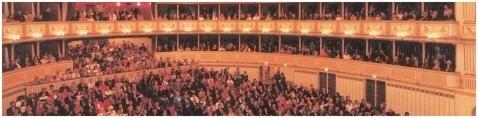 Der Zuschauerraum der Wiener Staatsoper (Foto: Zeininger).
