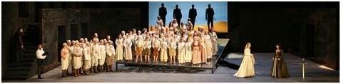 OTELLO (Verdi) Konzertvereinigung Wiener Staatsopernchor, Salzburger Festspiele 2008 (Photo: Lelli).
