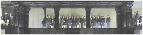 Das Schlussbild der Oper (Foto: Michel).