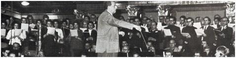 Die Konzertvereinigung Wiener Staatsopernchor mit Richard Roßmayer.