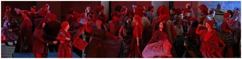 2015 Salzburger Festspiele, Il Trovatore, Konzertvereinigung Wiener Staatsopernchor, Foto: Forster