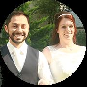 Brautpaar von Hochzeitsmovie