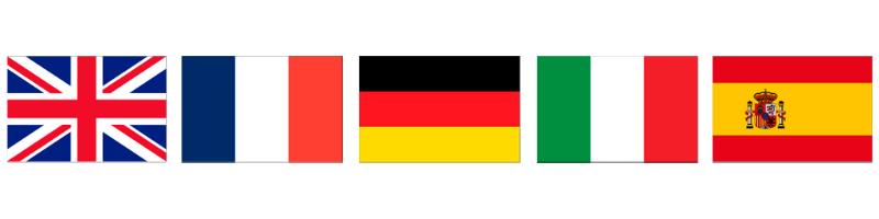 国別インバウンドプロモーション 欧州(英国・フランス・ドイツ・イタリア・スペイン)