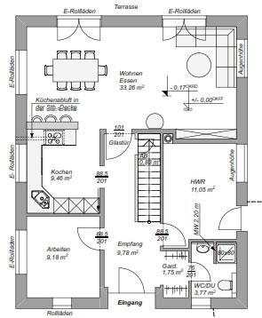 Einfamilienhaus Modern 150 Baugeschaft Schmitz Hamburg