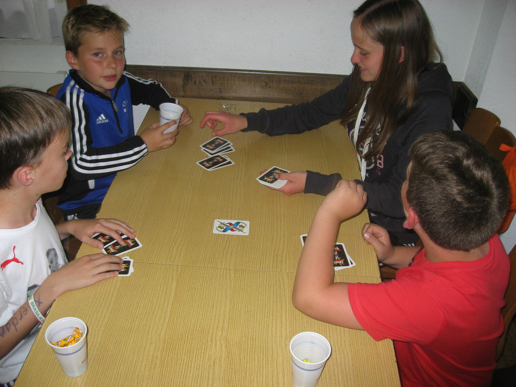 am Casino-Abend