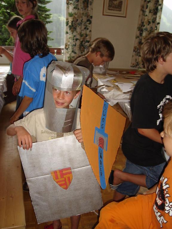 Ritterausrüstung basteln