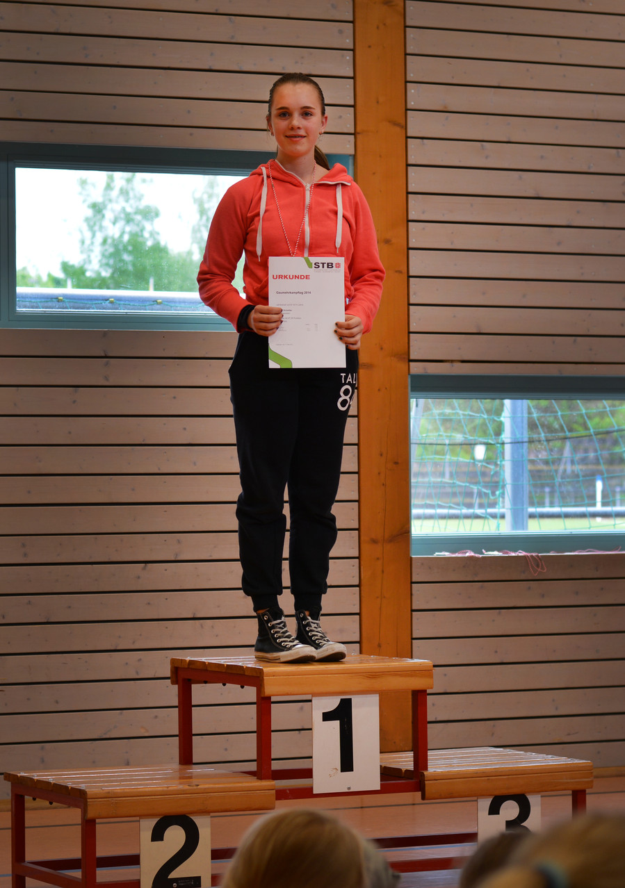 1. Platz Svenja Schettler