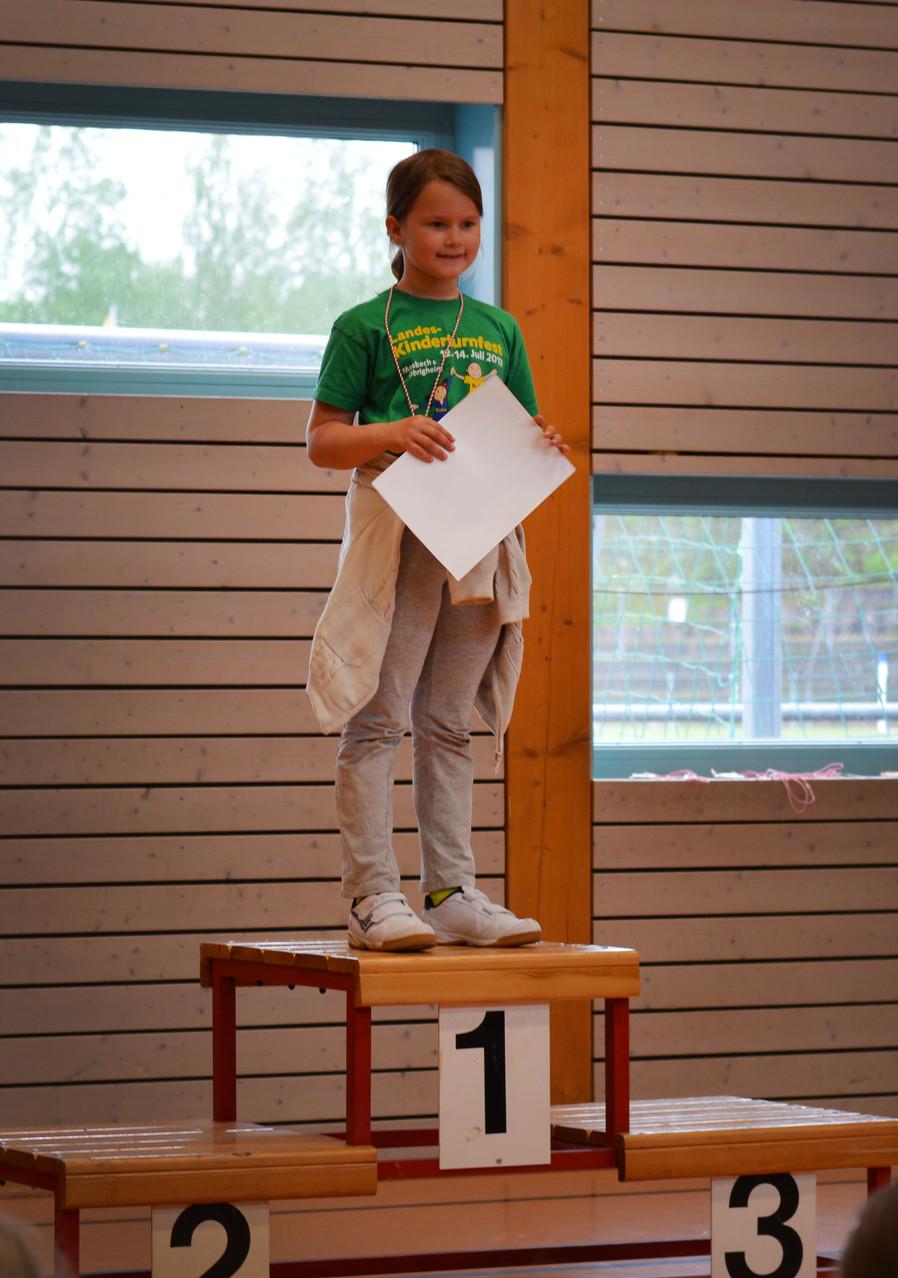1. Platz Anna Hörger