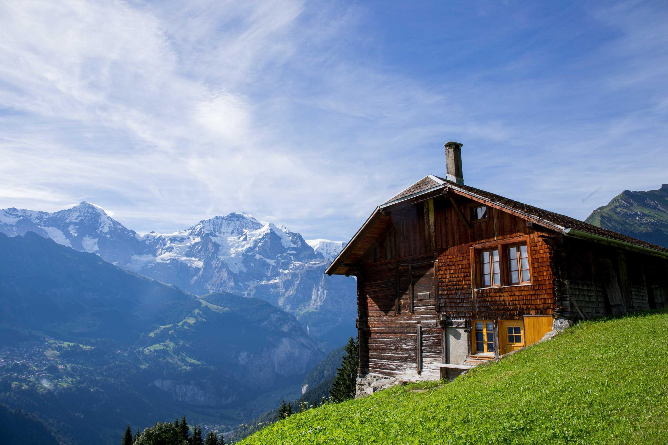 Mönch Isenfluh Suhlwald Jungfrau