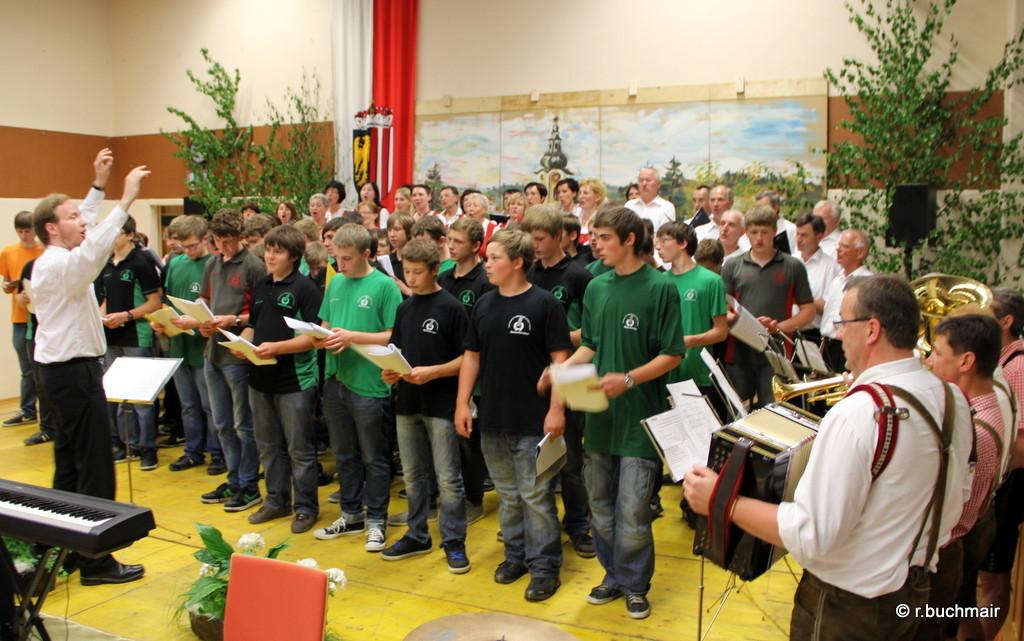 Schülerchor der landw. Fachschule