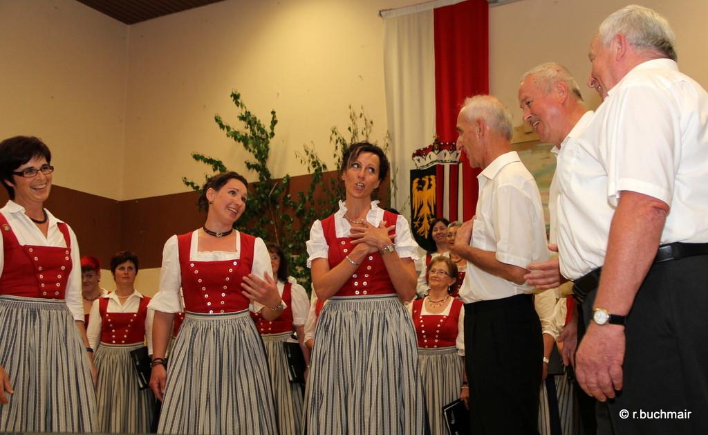 Ensemble des Kienzlchores
