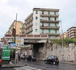 Ponte ferroviario di Torrione prima