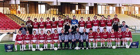 Formazione Salernitana 1999 - 2000