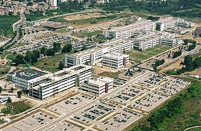 Università degli Studi di Salerno ripresa aerea