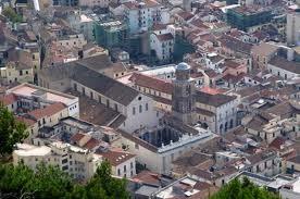 Foto aerea del Duomo di Salerno