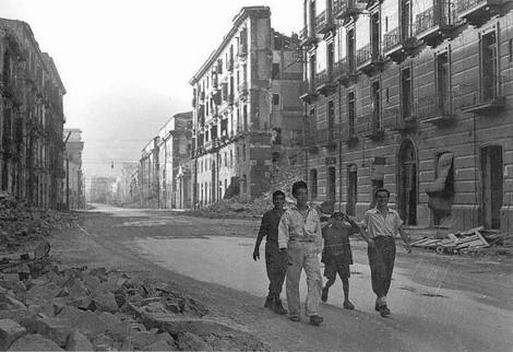 Corso Garibaldi di Salerno 1943
