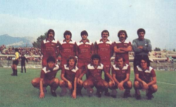 Formazione Salernitana 1983 - 1984