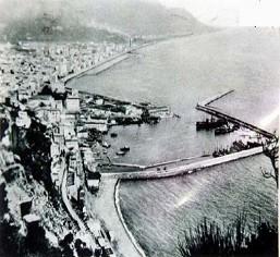 Porto di Salerno primi del 900'