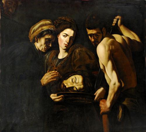 Salomè con la testa del Battista di Giovan Battista Caracciolo