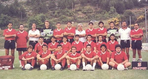 Formazione Salernitana 1990 - 1991