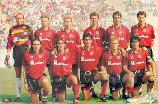 Formazione Salernitana 1994 - 1995