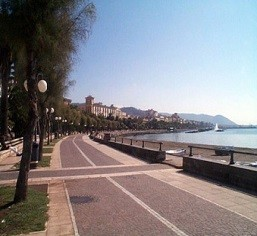 Lungomare di Salerno oggi