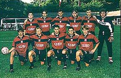Formazione Salernitana 1998 - 1999