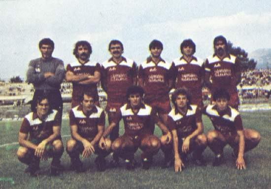 Formazione Salernitana 1984 - 1985