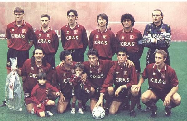 Formazione Salernitana 1993 - 1994