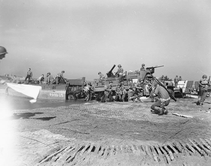 Sbarco degli alleati a Salerno 1943