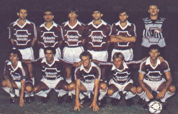 Formazione Salernitana 1985 - 1986
