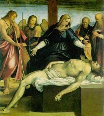 La Pietà di Andrea Sabatini