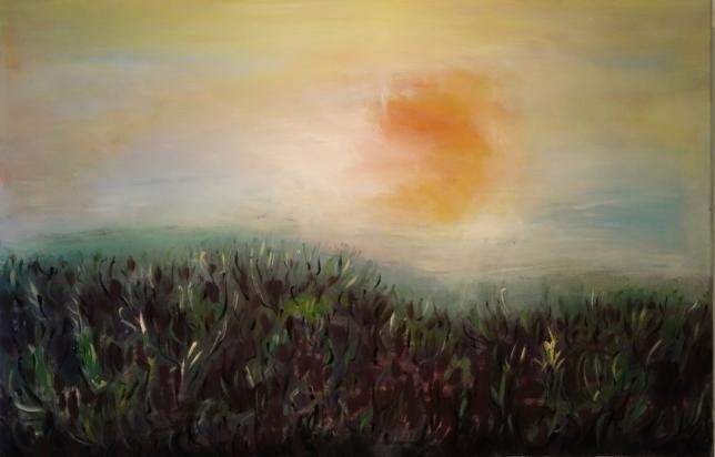 Ruhende Landschaft (110 x 80cm)