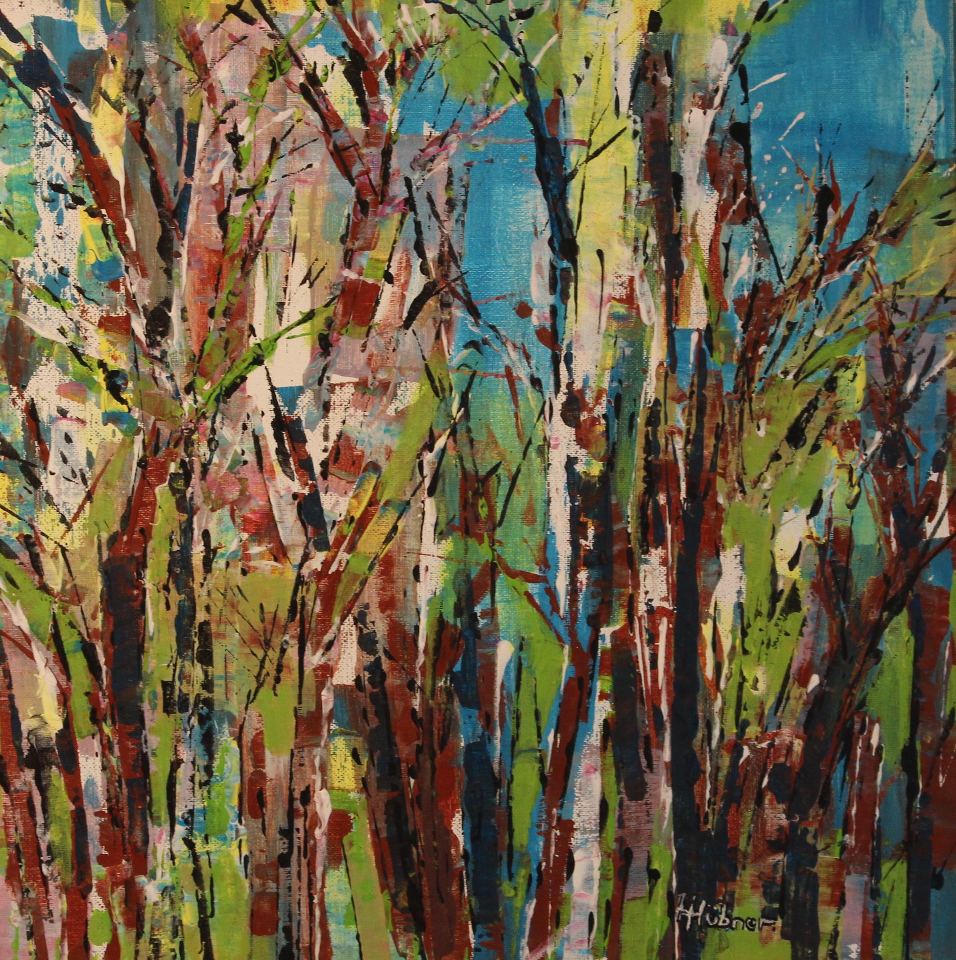 Trees (40 x 40cm)
