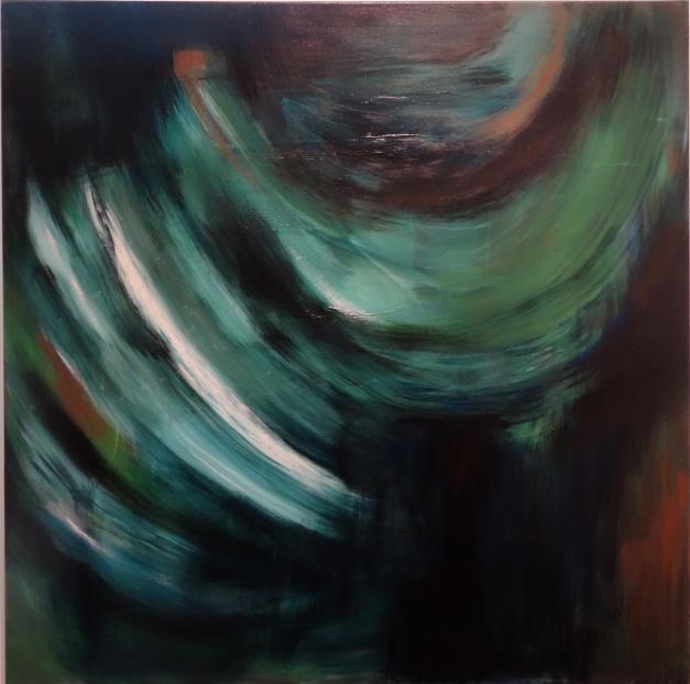 Farbstudie (100 x 100cm)