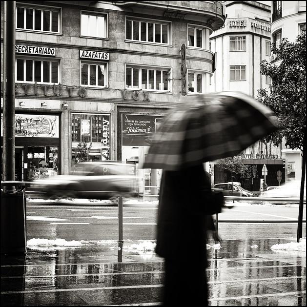 gran via, Madrid 2009