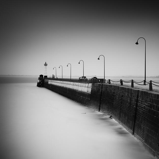 Pier Cancale, Bretagne. France 2013