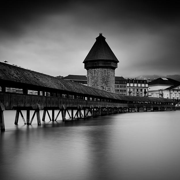 Kapellbrücke #01, Luzern. Switzerland 2013