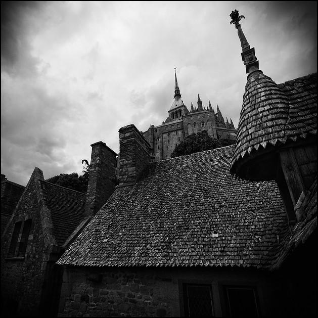 Mont Saint Michel, study II, 2009